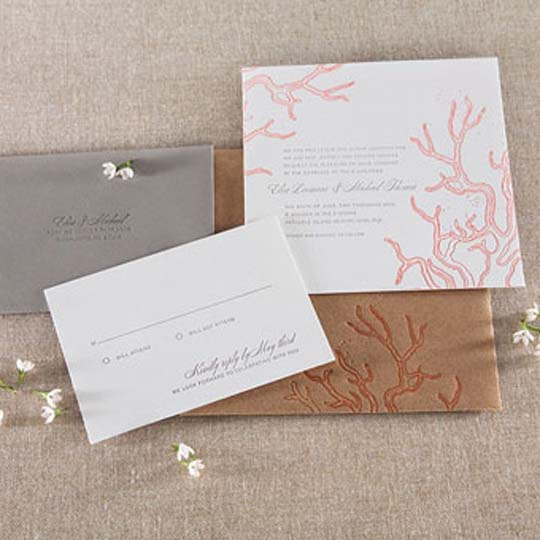 Wedding invitations ideas best beach wedding invitation for Beach wedding invitations with pictures
