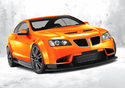 GTO Monaro Orange