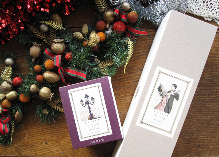 Ted Baker Residence London Scented Candle and New York Scented Reed Diffuser review