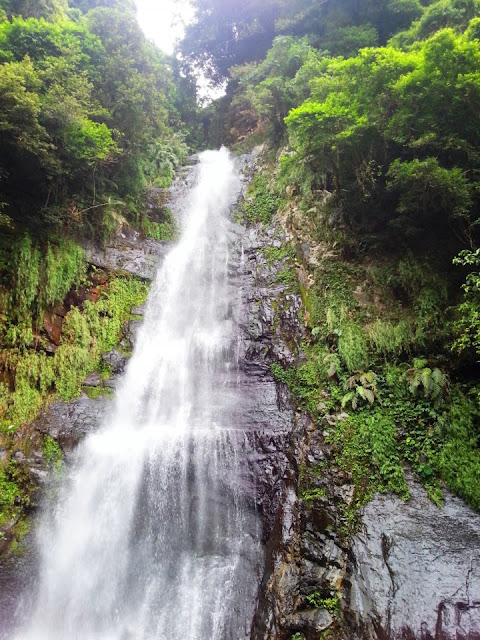 Wufengchi Waterfall in Yilan Taiwan