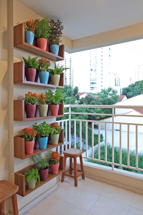 plantas sol jardim vertical:Decora Interi : Varandas e Terraços para relaxar
