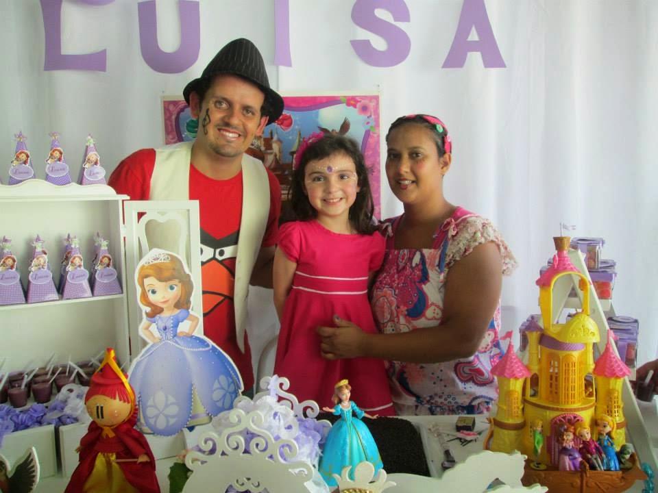 Aniversario da Luíza. com Folia Festa.