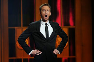 Neil Patrick Harris presenting the Emmys