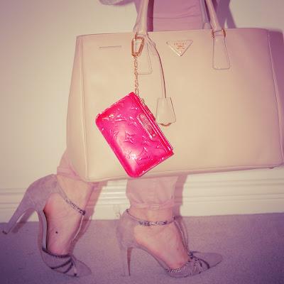 Pink Aritzia blouse