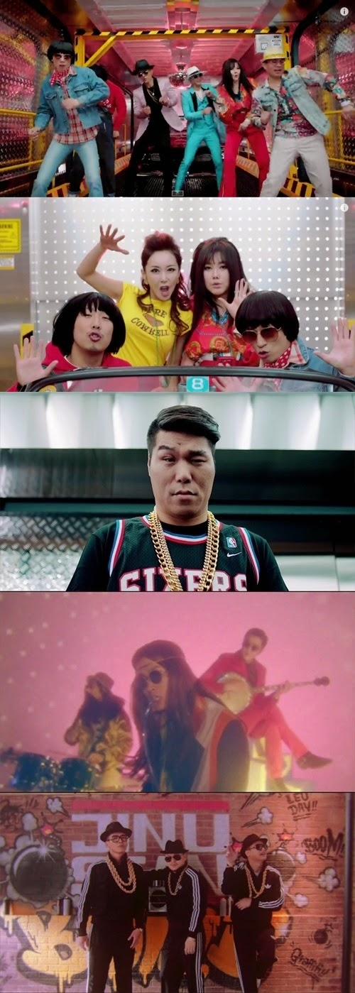 JINUSEAN TELL ME ONE MORE TIME MV Jang Han Na JINUSEAN TELL ME ONE MORE TIME Music Video kim Jin woo Noh Seung hwan YG Entertainment Infinity Challenge Haha Park Myung Soo Yoo Jae Suk SES Sue Kim Hyun Jung Cool Gim Seong Su Yang Dong Geun Epik High iKON's Bobby DJ DOC Seo Jang Hoon iKON Koo Jum Hoe Song Yun Hyeong Kim Dong Hyuk Kim Han Bin BI Jung Chan Woo Bobby Kim Jin Hwan