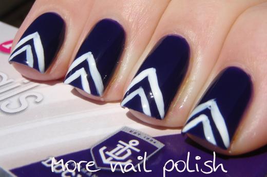 Ulta3 - AFL Fan Nails | Nail Art Ideas