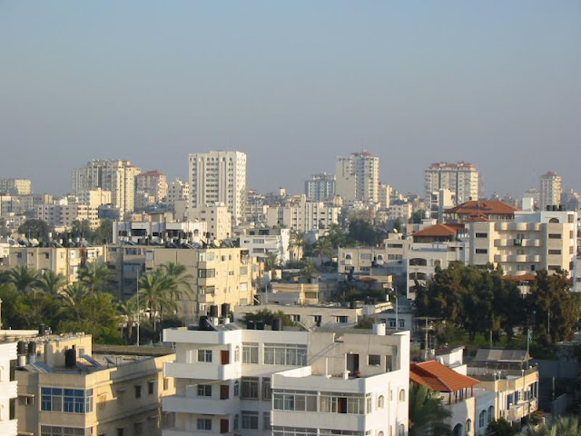 Gaza City Photos With Time Passing Technology