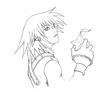 #1 Riku Coloring Page