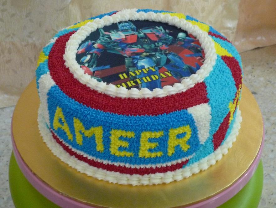 Gg Home Biz Cakes Wedding Cakes Transformers Birthday Cake With