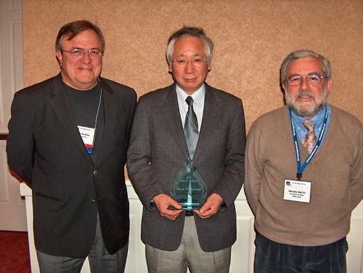 Robert Buckley, Shoji Tominaga, Daniele Marini. (c) 2007 John McCann