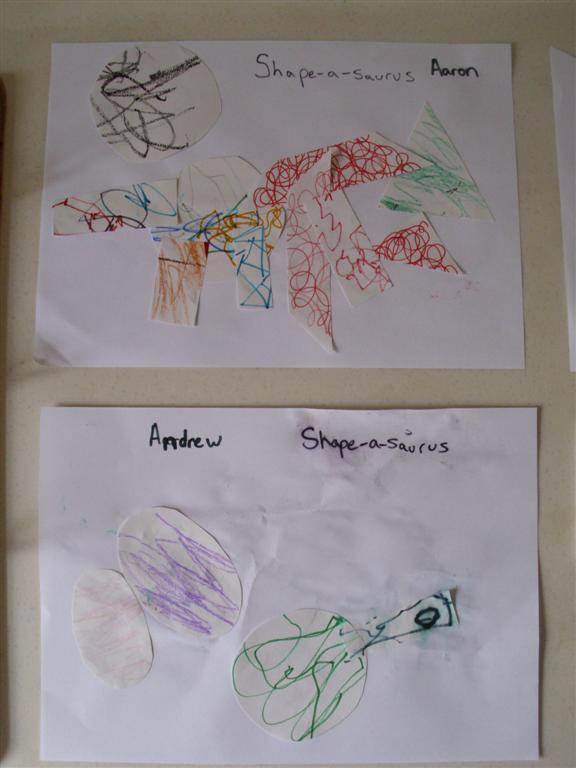 Dinosaur Preschool Coloring Pages