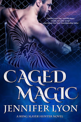 paranormal romance, Caged Magic, Jennifer Lyon, book
