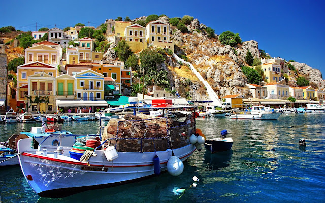 Fishing Village Greece