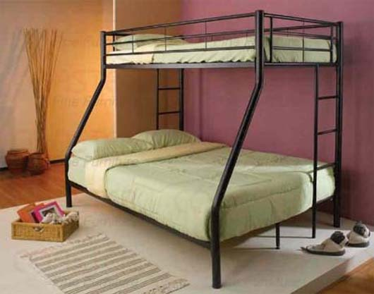 Steel Double Decker Beds : Metal Double Decker Beds, Designs, Available @ Homez Deco.....by order