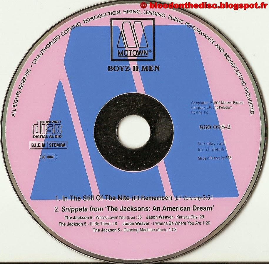 CD Boyz II Men