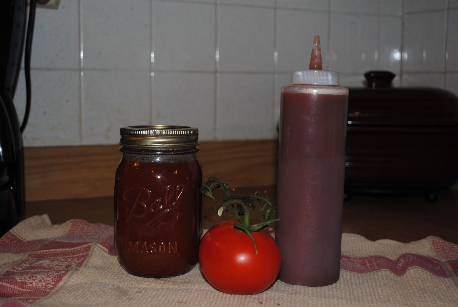My Old Kentucky Homestead: Homemade ketchup