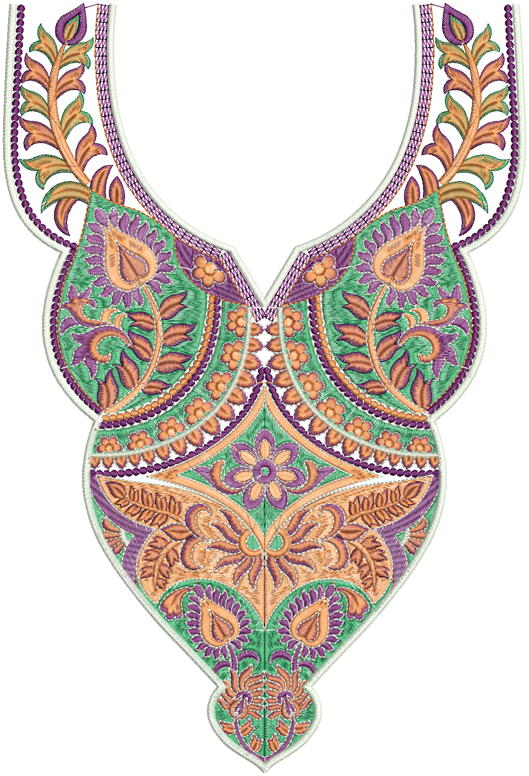 Latest AZ Neck Embroidery Designs  Embdesigntube