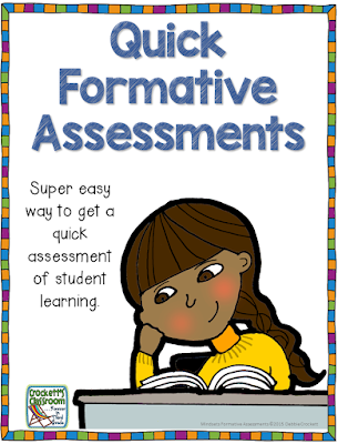 Quick Formative Assessments--Mindsets for the Classroom