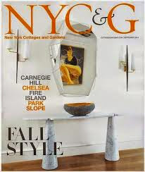 Hot Off The Press:  my feature story in NYC&G magazine & made the cover to boot!