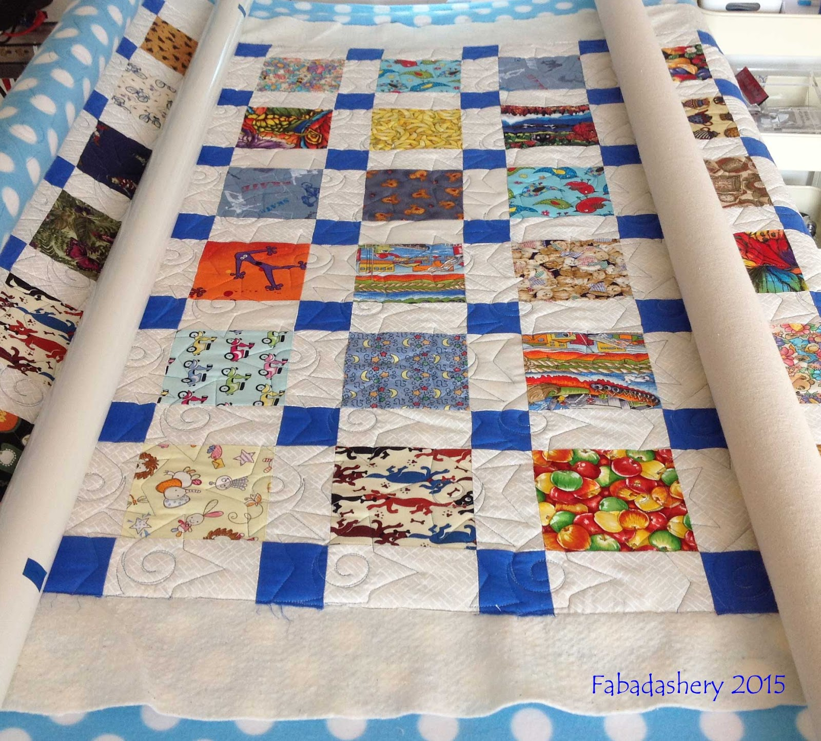 Fabadashery Longarm Quilting: Project Linus UK - Festival of ... : linus project quilts - Adamdwight.com