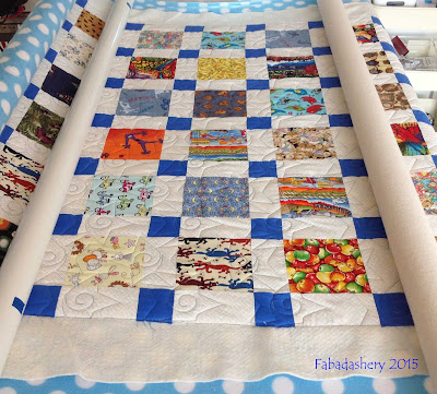Eye Spy Charm Square Quilt