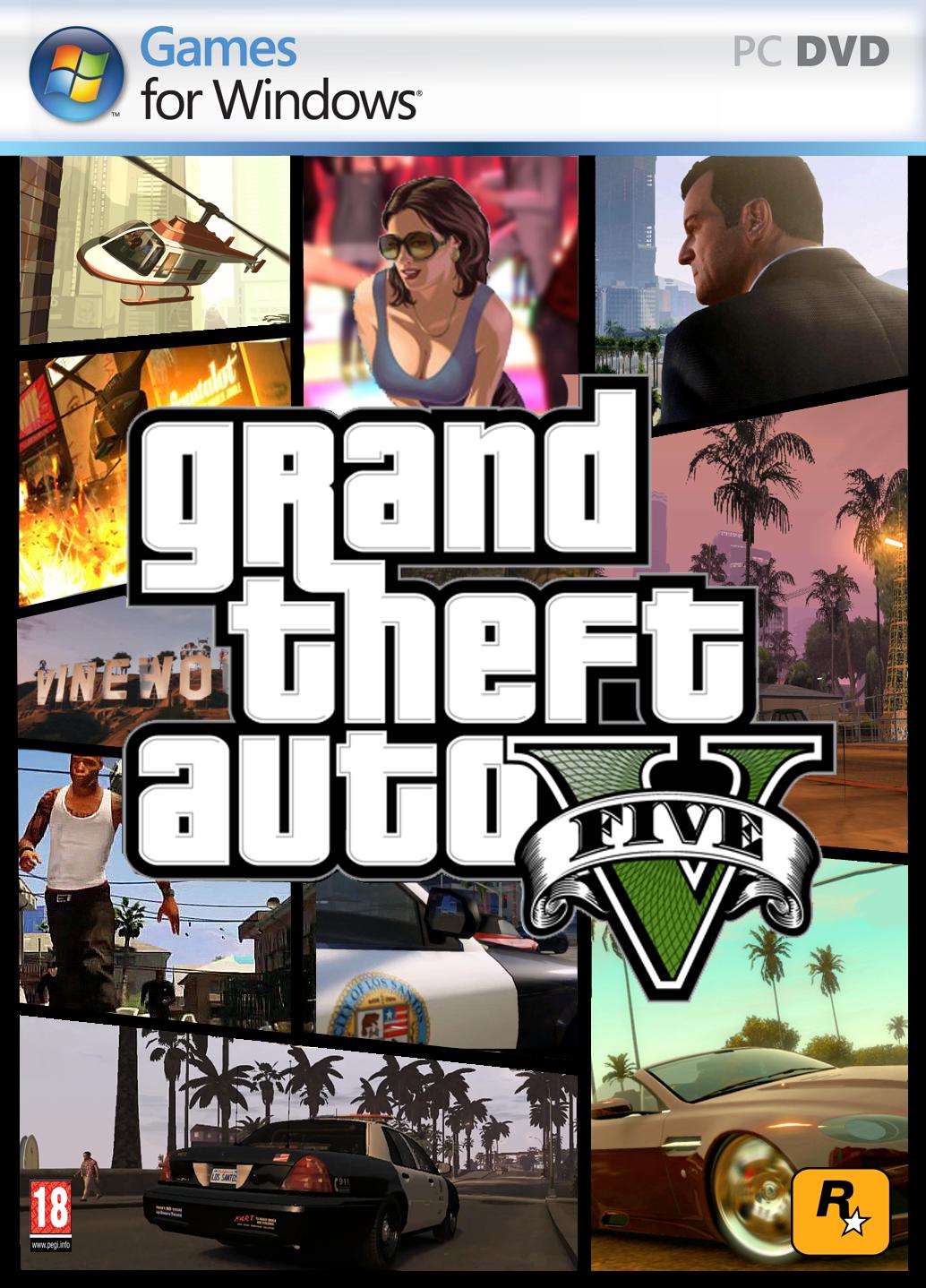تحميل لعبة Grand Theft Auto V نسخة PC - تحميل مباشر