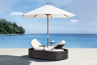 Contemporary Outdoor Furniture - Zuo Modern Hampton Bed