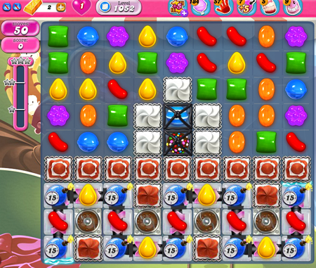 Candy Crush Saga 1052