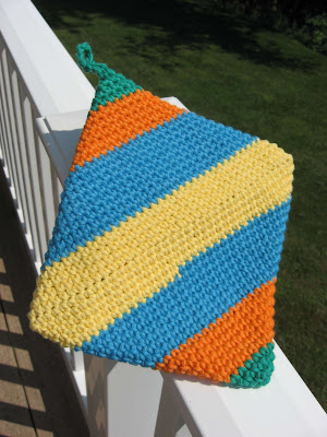 Crocheted Cotton Hotpads