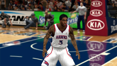 NBA 2K13 Louis Williams Face 2K Update