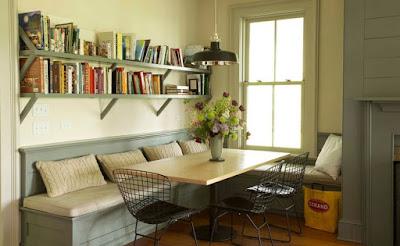 Bạn có thể tạo ra một không gian đa năng ở phòng bếp nhỏ