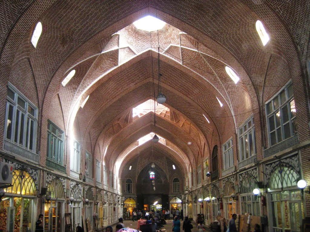 Tabriz Bazaar Vaulted Ceiling
