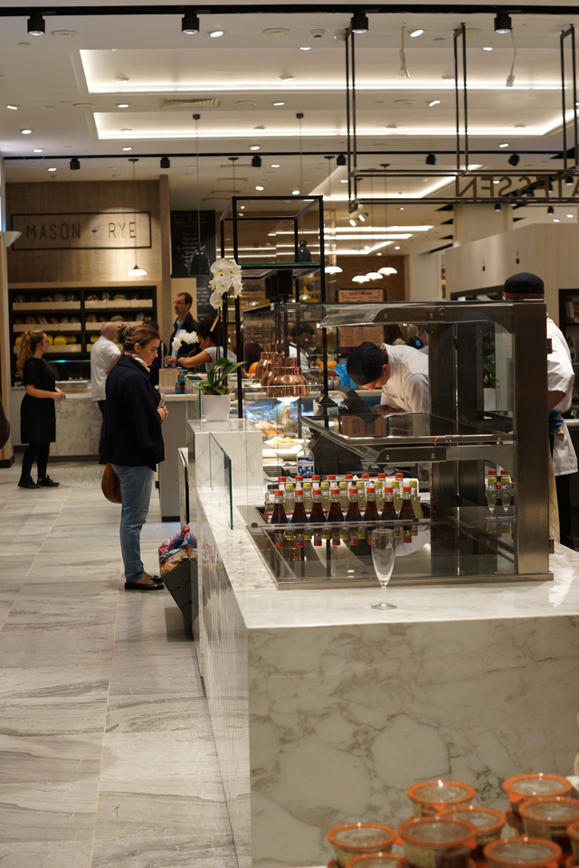 Hello Freckles Fenwick Food Hall Launch Newcastle Interior