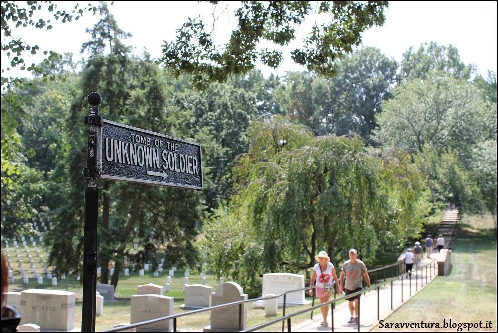 Cimitero di Arlington Washington DC cosa vedere