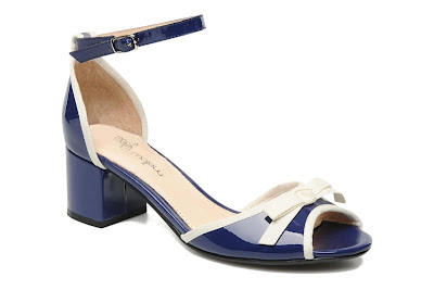 Block heels in blue
