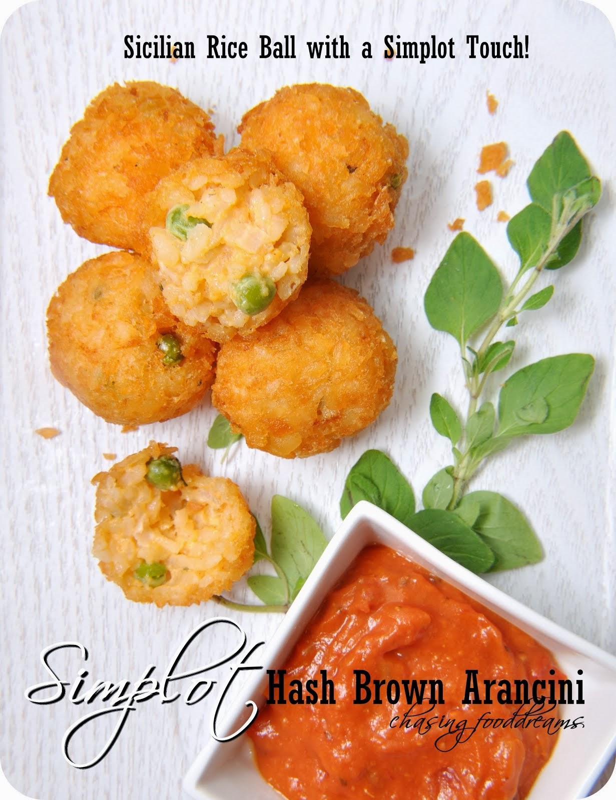 Simplot Hash Brown Arancini