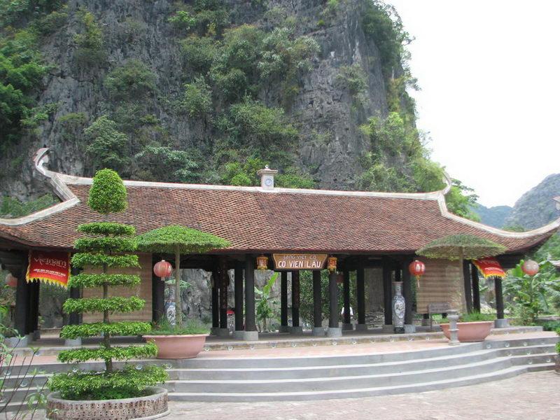 Tham quan Làng Việt Cổ, Cố Viên Lầu ở Tam Cốc