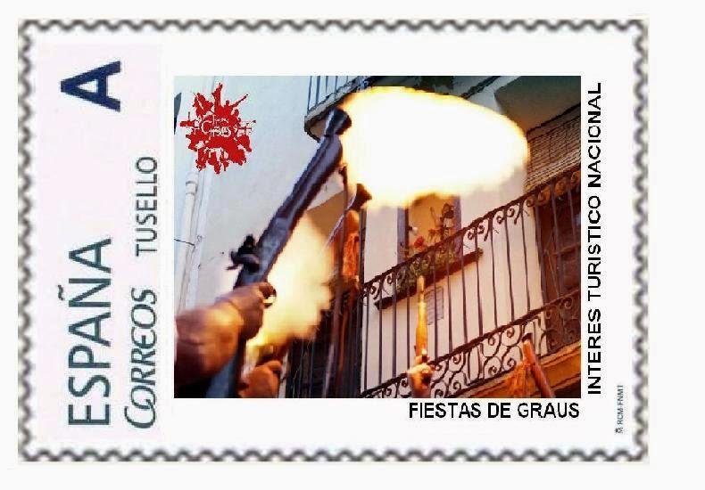 SELLOS FIESTAS DE GRAUS 2