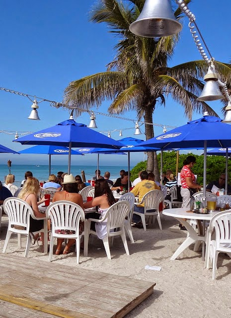 The beachhouse sandbar and mar vista dockside pub each embody the feel of unspoiled florida serving fresh florida seafood with breathtaking views of the