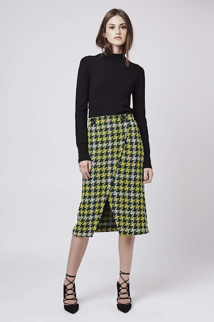green tweed skirt, green wool wrap skirt,