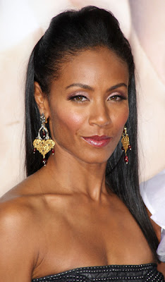 Jada Pinkett Smith Gemstone Chandelier Earrings