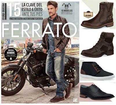 Catalogo Andrea Ferrato Zapatos Hombre OI-15