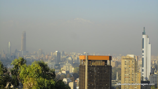 Smog sobre Santiago