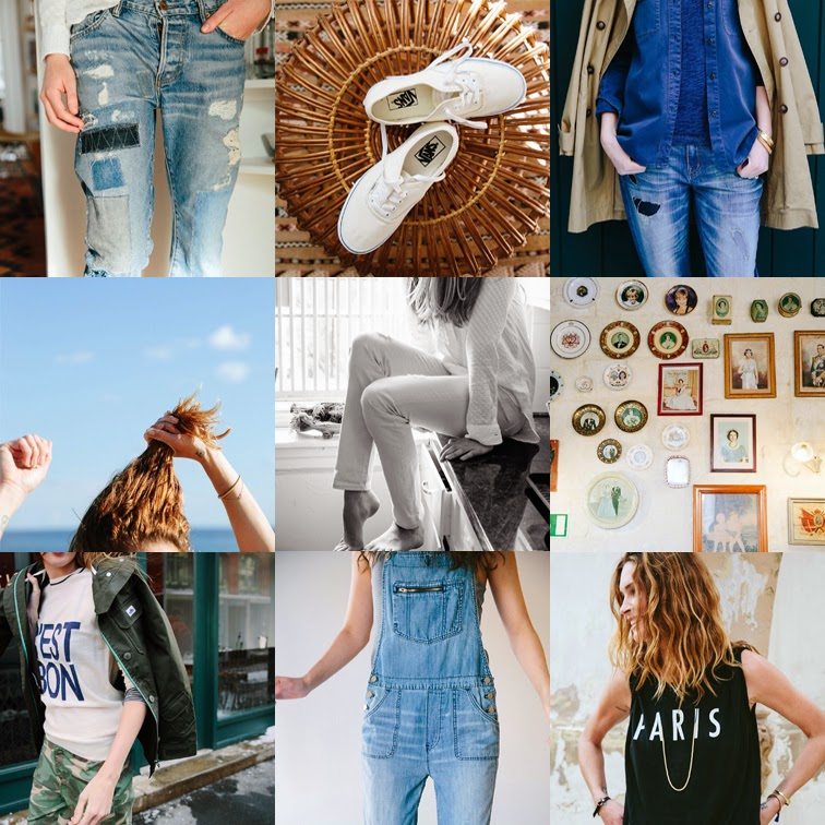 @madewell1937, Madewell on Instagram, denim