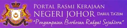 Laman Website Rasmi Johor