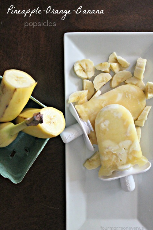 Recipe: Pineapple Orange Banana Pops in minutes!
