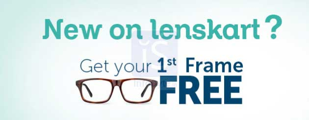 First frame free at LensKart​
