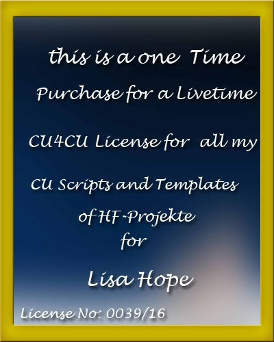 HG-PROJEKTE LIFETIME LICENSE FOR CU SCRIPTS & TEMPLATES