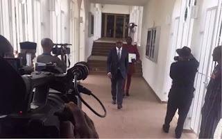 Alleged 25 billion dollar scam: Buhari, Kachickwu in closed-door meeting