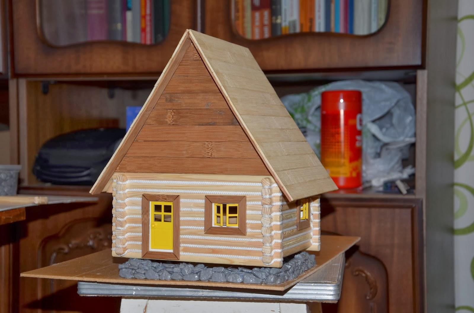 Как сделать домик для поделки 42
